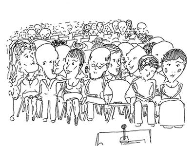 Sketch audience
