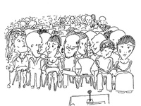 Sketch audience