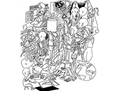 Sketch Society illustration sketch