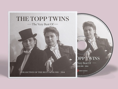 The Topp Twins CD cd cd cover