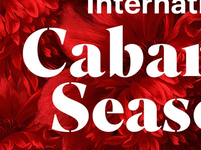 The Auckland International Cabaret Season cabaret flowers