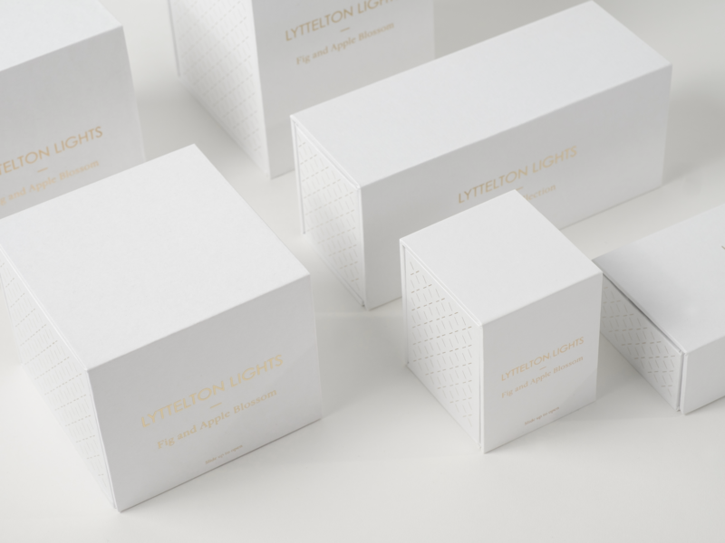 Lyttelton Lights 2017 best awards bronze typography photography packaging foil candle lyttelton lights imagic creative agency imagic