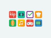 Kiip Vertical App Icons