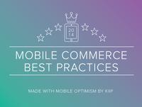 Mobile Commerce Best Practices Ebook