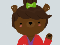 Brittany Brown Bear