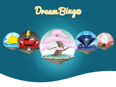 Bingo Rooms icons web design ui visual design icons