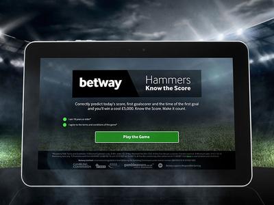 West Ham Game visual design app game game ui ux app