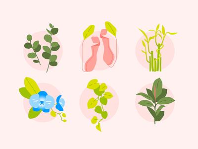 Lucky Plants lucky plants digital artwork graphic design vector illustration design