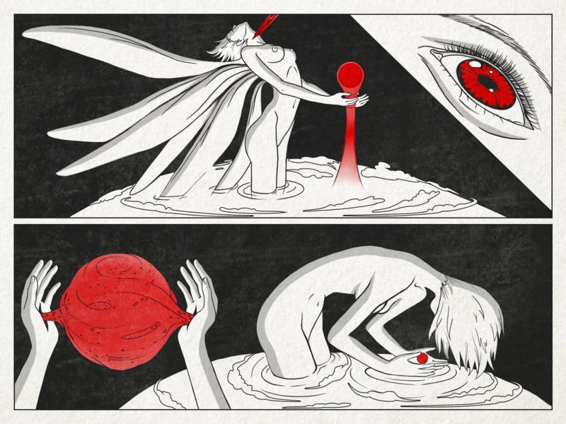Neon Genesis Evangelion anime manga japan illustration character zajno