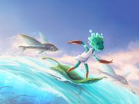 Children's Book Character Illustration