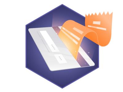 Payment Illustration for Blockchain Loyalty Platform Website
