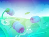 Loading Screen for Music App