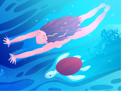 Red Turtle affinity creative drama anime emotion sea zajno film movie illustration inspiration