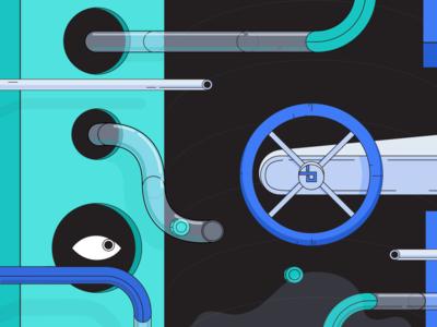 Website for bZx: Metaphor Design