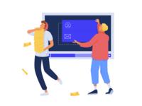 Illustration for a Video Hosting & Marketing Platform