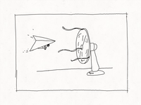 Inktober 2019: Hang glider animation