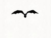 Spooky Halloween Bat Fighting Extinction