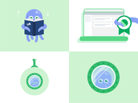 Product illustrations for IBM Cloud Certificate Manager.