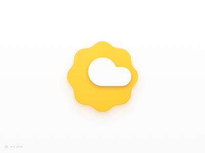 Weather Icon weather iconography vector figma app icon logo branding illustration graphics design