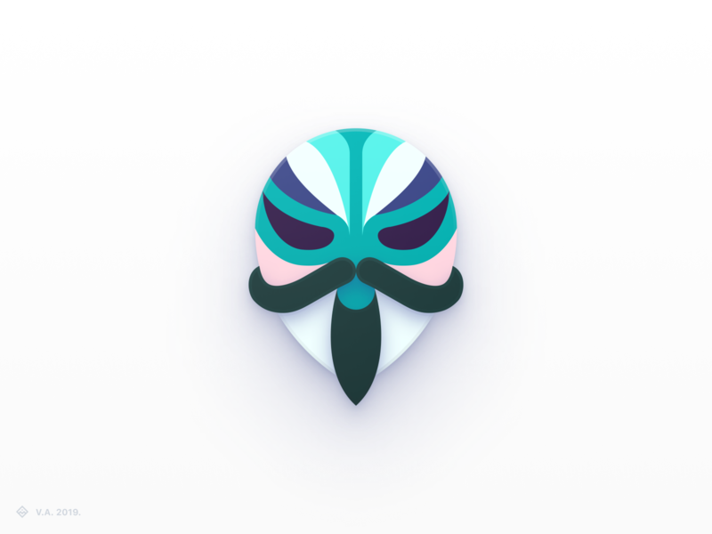 Magisk Manager — Concept Icon android app icon pack candycons android magisk iconography vector figma app icon branding logo illustration graphics design