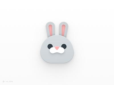 Mr. Carrots graphic design candy rabbit iconography app vector figma icon logo illustration graphics design