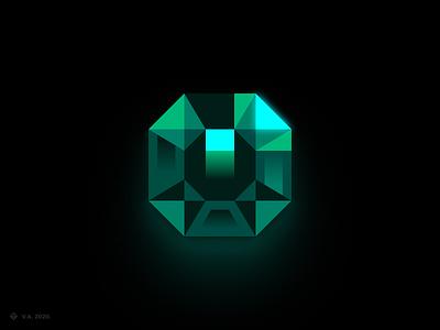 Emerald — Logo green gem emerald profile picture bot discord avatar discord bot discord brand iconography vector figma icon logo branding illustration graphics design