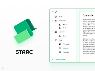 STARC brand app vector icon figma logo branding design