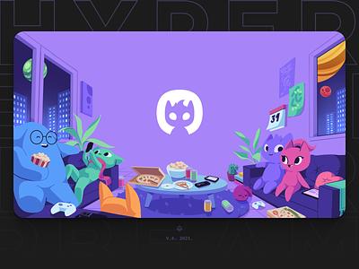 Hyperbeam Landing Page Illustration branding art graphic design purple illustration graphics
