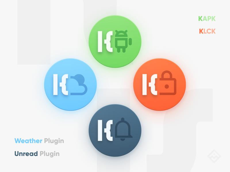 Other Kustom Icons vector figma kustom product icon iconography branding icon logo illustration graphics design