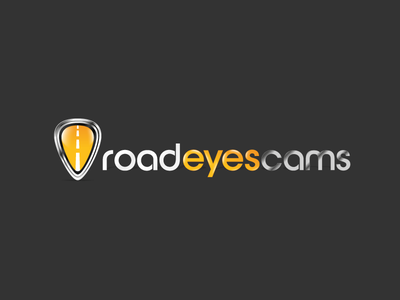 Roadeyescams logotype cars drive road security dashcams roadeyescams brand logo