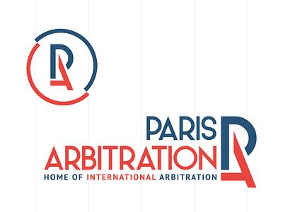 Paris Arbitration Identity logotype audacy association international france brand identity circle eiffel tower arbitration arbitrage paris