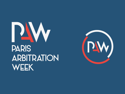 Paris Arbitration Week Identity association international week audacy logotype identity law event arbitration paris