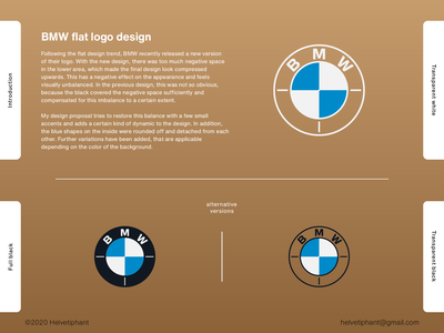 BMW flat logo redesign mark brand direction brand designer emblem logo designer flat logo design logo design automotive logo car logo bmw brand design logotype typography icon branding logo