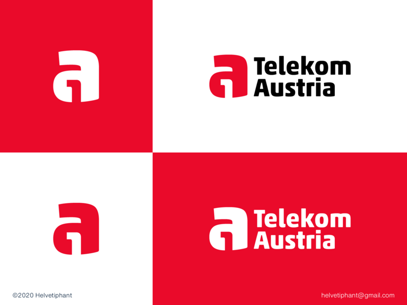 a1 Telekom Austria - proposal logo design concept minimalist logo negative space logo provider telecommunication a logo design a1 logo designer logo design brand design logotype typography branding icon logo