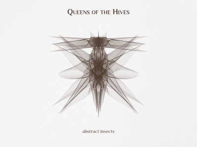 Queens of the Hives blending line art illustration art behance project insects abstract design abstract art design illustration adobe illustration illustrator design shapes vector graphic design