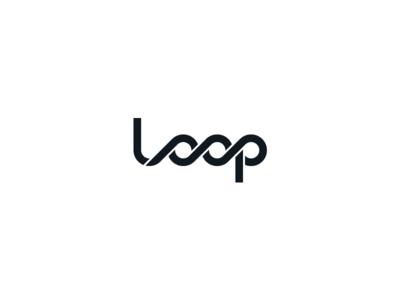 Loop branddesigner logodesigner designthinking loops designinspiration creative logo wordmark logo lettermark lettering expressive typography custom logo custom lettering custom type looped loop logo design logotype typography branding logo