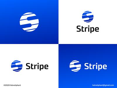 Stripe - proposal brand designer creative logo custom lettering negative space logo modern logo minimalist logo stripes stripes logo s logo logo design logo design concept logo designer brand design logotype typography branding icon logo