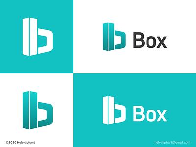 Box - logo concept perspective modern logo minimalist logo concept box logo b letter logo logo design brand designer logo design concept logo designer brand design logotype typography branding icon logo