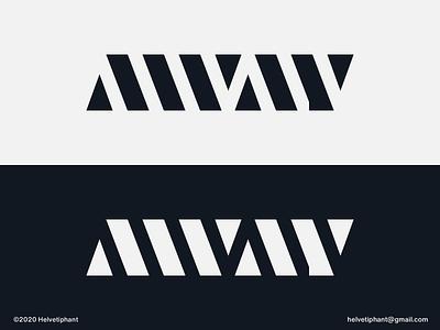 Away - logotype lettering custom lettering wordmark lettermark custom logo custom type away brand designer logo designer logo design concept logo design shapes brand design logotype typography branding logo