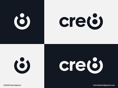 cre8 - logo concept logomaker mark logomark wordmark creative logo negative space logo cre8 create brand designer logo design concept logo designer logo design brand design logotype typography branding icon logo