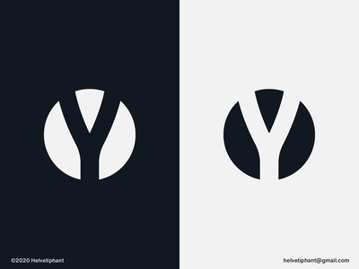Y - logomark concept yoga sportswear apparel fashion label fashion brand lettermark logo mark y letter logo negative space logo creative logo brand designer logo design concept logo designer logo design brand design logotype branding icon logo