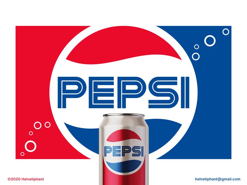 Pepsi Retro - proposal custom type redesign concept pepsi creative logo brand designer logo design concept logo designer logo design brand design logotype typography branding icon logo