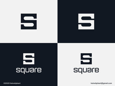 square - logo concept lettermark logo lettermark minimalist logo square s letter logo creative logo brand designer logo design concept logo designer logo design brand design logotype typography branding icon logo