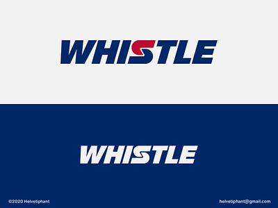 Whistle - logo concept wordmark whistle expressive typography creative logo brand designer logo design concept logo designer logo design brand design logotype typography branding icon logo