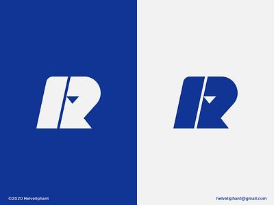 R-arrow - logo concept lettermark modern logo minimalist logo arrow logo r letter logo abstract logo creative logo brand designer logo design concept logo designer logo design brand design logotype typography branding icon logo