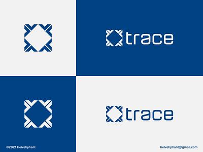 Trace - logo concept binary code software programming tech logo coding logo code symbol modern logo minimalist logo brand designer logo designer creative logo logo design concept logo design brand design logotype branding icon logo