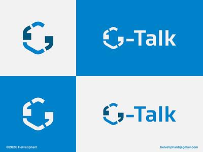 G-Talk - logo concept chat talk apostrophe hexagon lettermark g letter logo minimalist logo brand designer logo designer creative logo logo design concept logotype logo design brand design typography branding icon logo