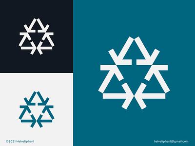 Arroway - logo concept modern logo negative space logo arrow logo brand designer minimalist logo creative logo logo design concept logo designer logo design brand design branding icon logo