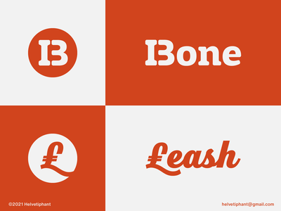 Bone & Leash - logo concepts for Shiba Inu Coin token token branding coin swap crypto swap crypto exchange crypto currency crypto creative logo logo design concept logo designer logo design typography logotype brand design branding icon logo