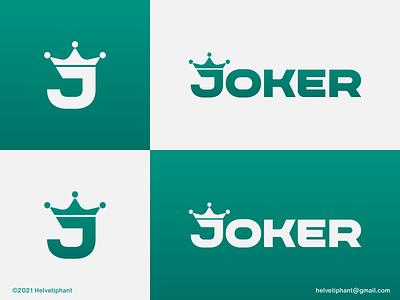 Joker - Logo Concept jester custom logo design creative logo logo design concept brand designer logo designer design typography icon lettermark custom type wordmark expressive typography joker logo design logotype brand design branding logo